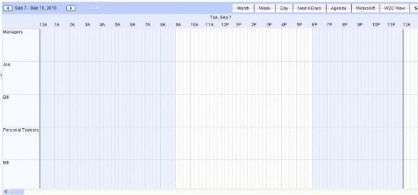 Web2Cal Calendar
